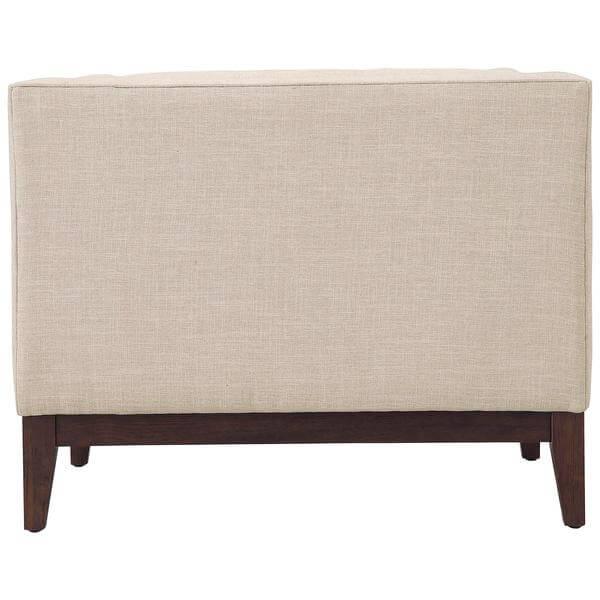 beige sofa chair