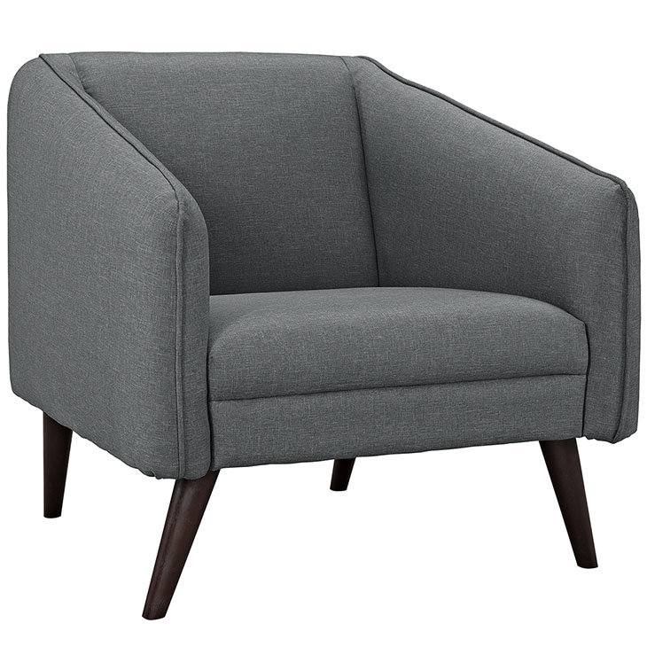 bloc sofa armchair dark gray 1