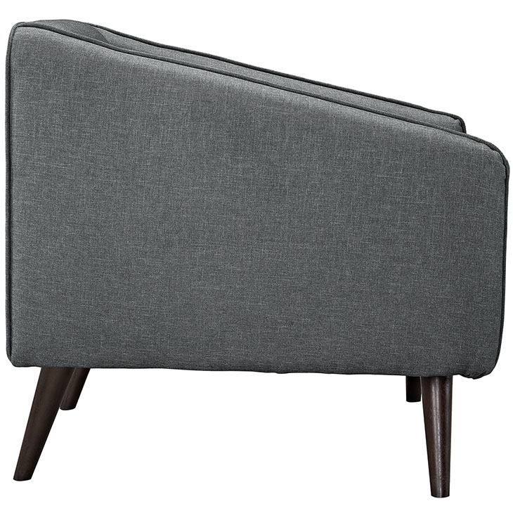 bloc sofa armchair dark gray 2