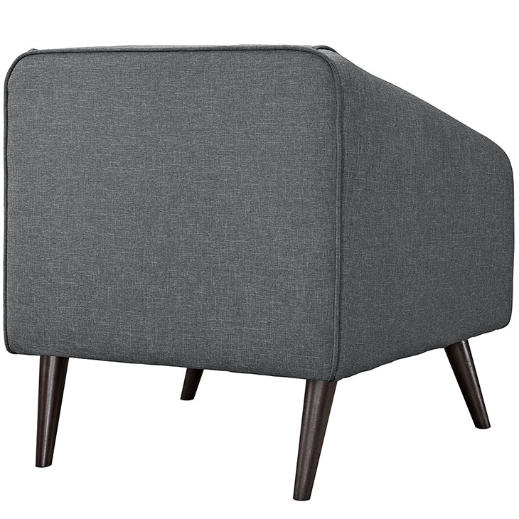 bloc sofa armchair dark gray 3