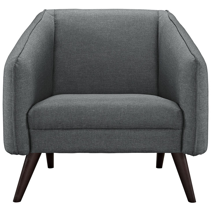 bloc sofa armchair dark gray 4