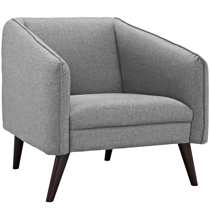 bloc sofa armchair light gray 1