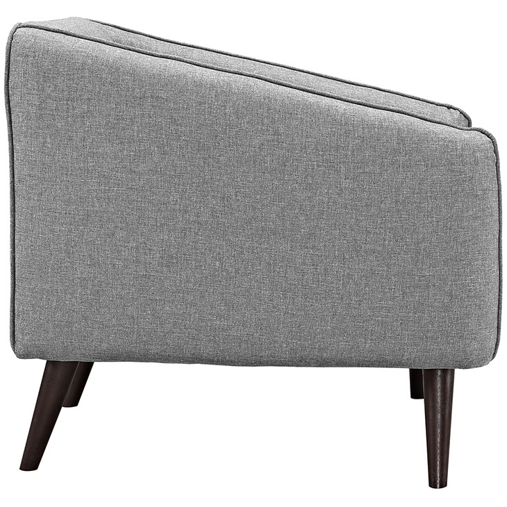 bloc sofa armchair light gray 2