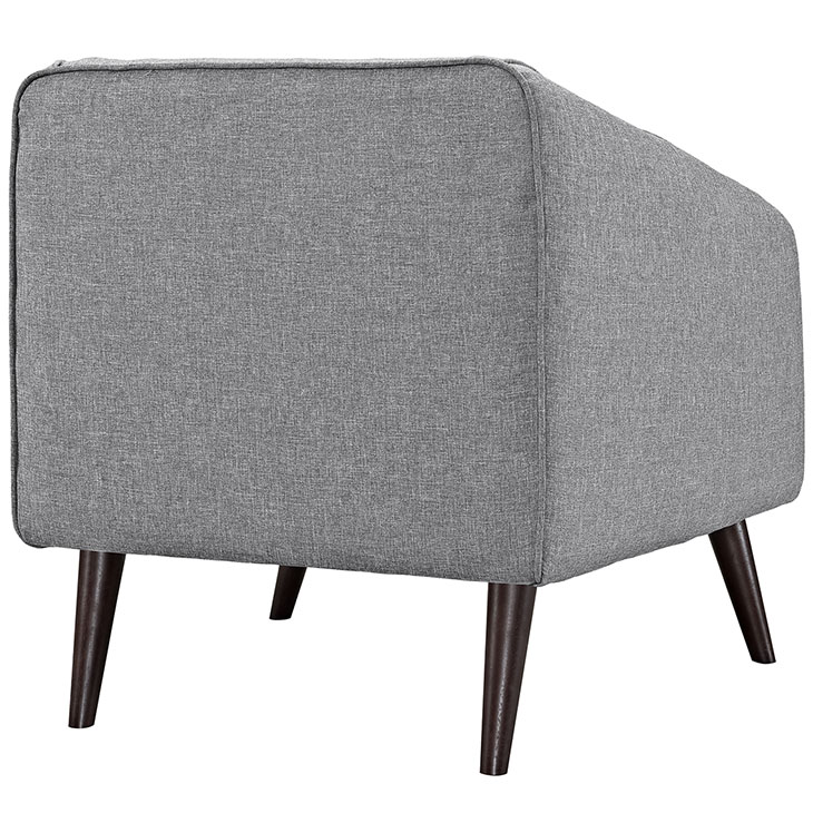 bloc sofa armchair light gray 3