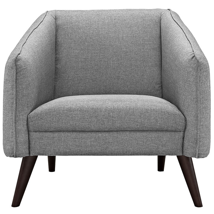 bloc sofa armchair light gray 4