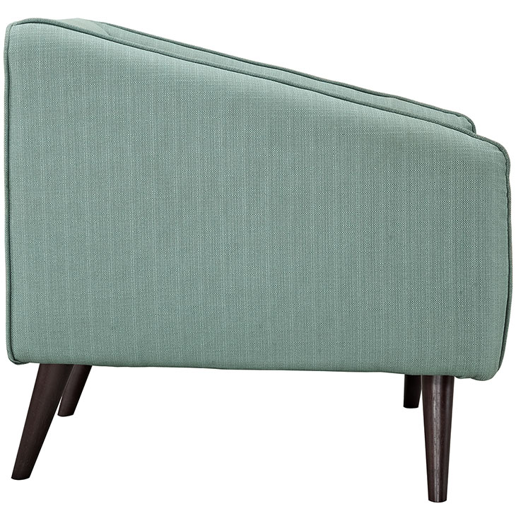 bloc sofa armchair mint green 2