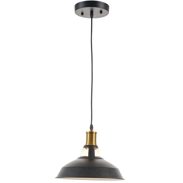 brass matte black pendant light 1