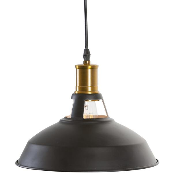 brass matte black pendant light 2