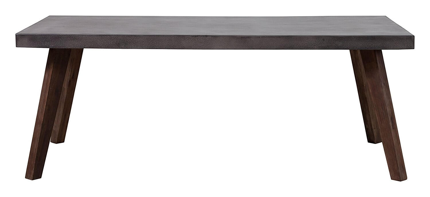 concrete wood dinning table 3