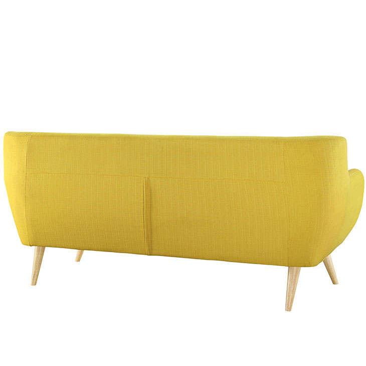 decade upholestered sofa yellow 2