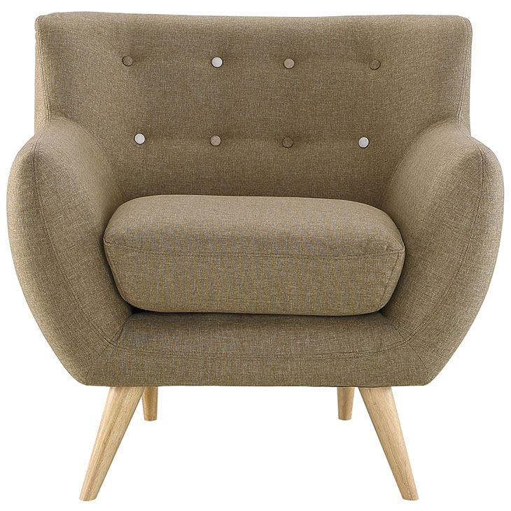 decade upholstered armchair beige 1