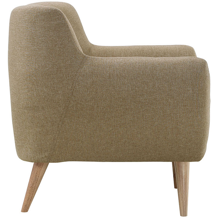 decade upholstered armchair beige 3