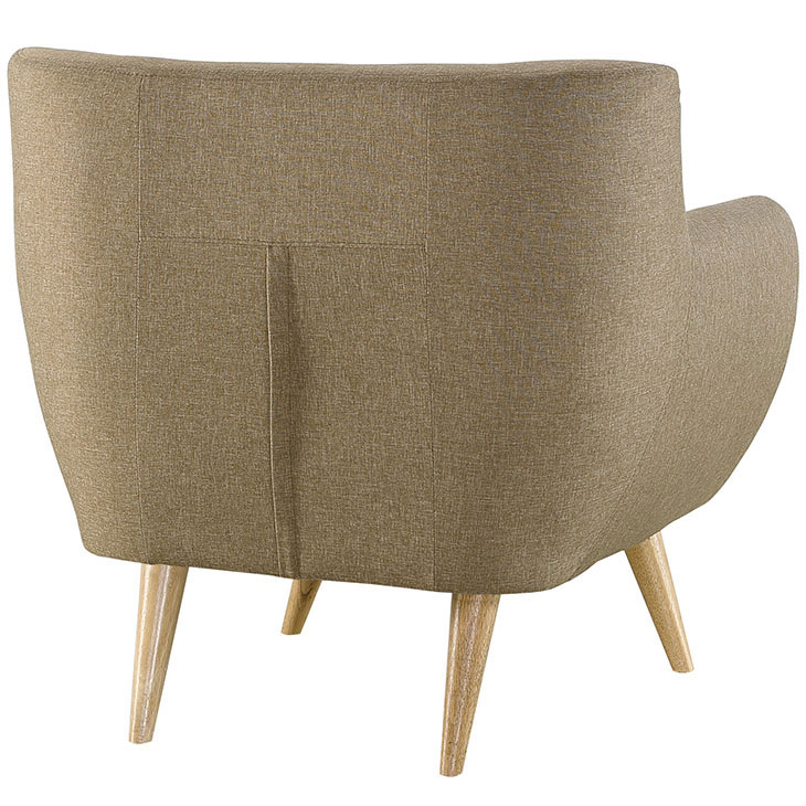decade upholstered armchair beige 4