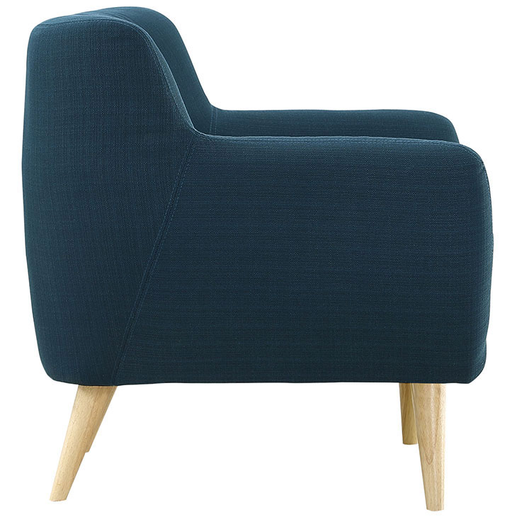 decade upholstered armchair blue 3