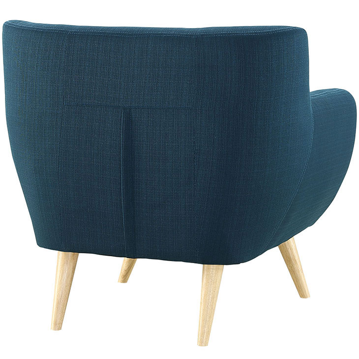 decade upholstered armchair blue 4