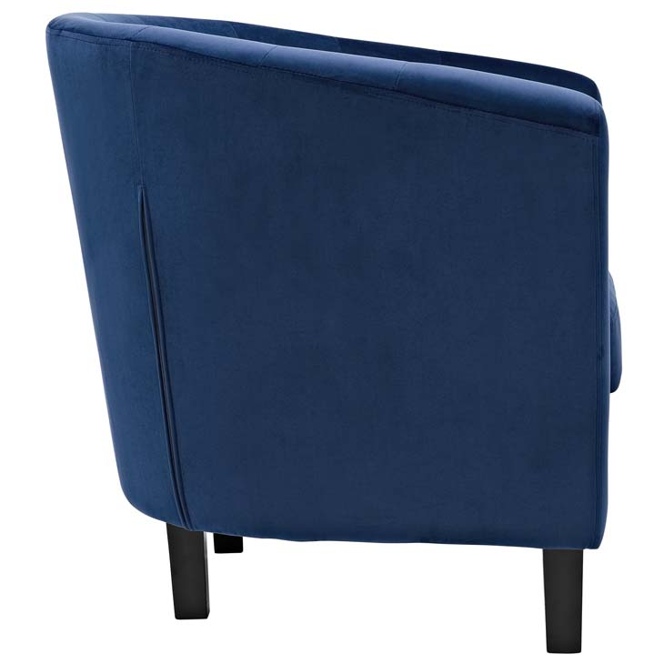 exclusive velvet sofa armchair blue 2