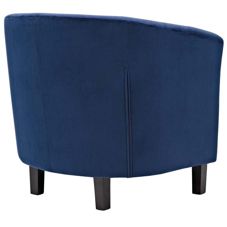 exclusive velvet sofa armchair blue 3