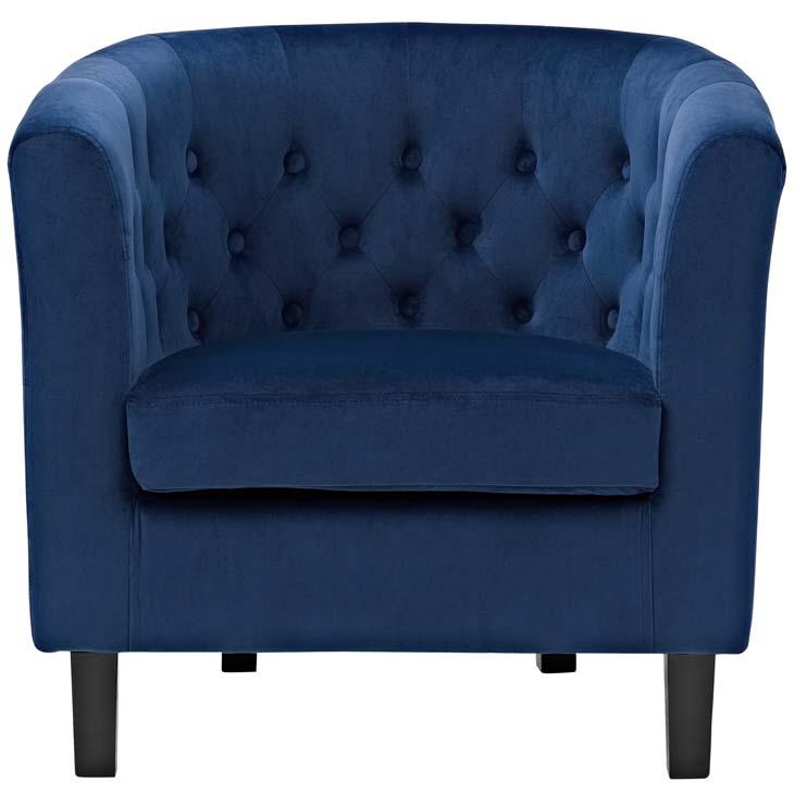 exclusive velvet sofa armchair blue 4