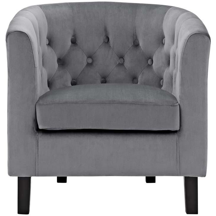 exclusive velvet sofa armchair grey 4
