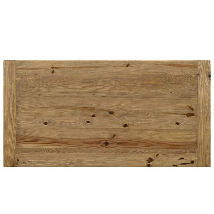 farmhouse wood coffee table 3