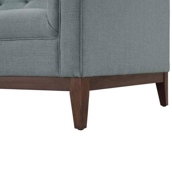gray mid century loveseat 3