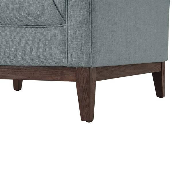 gray walnut sofa chair