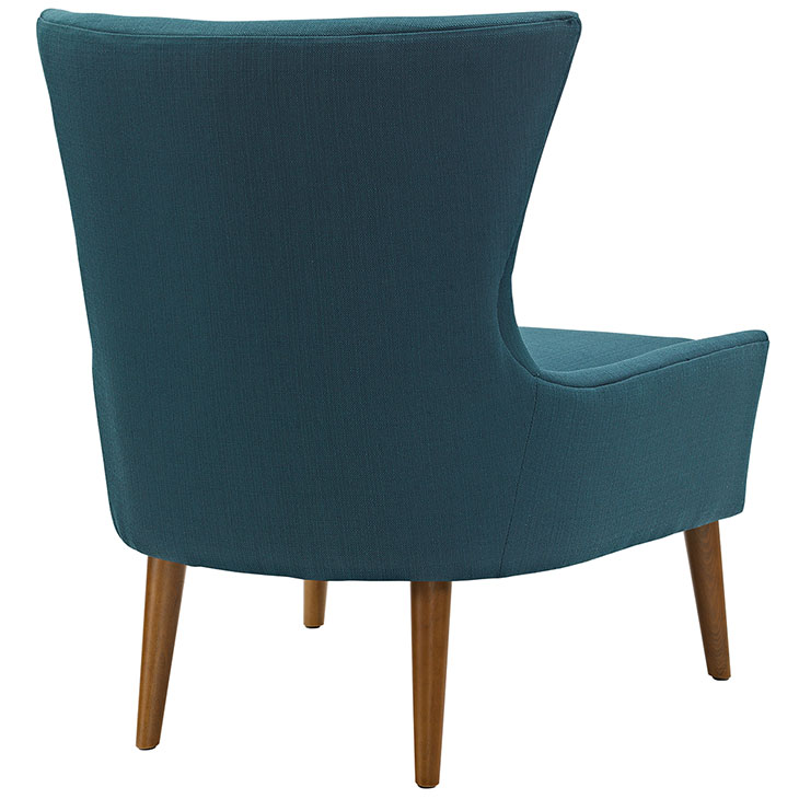 journal mid century modern fabric accent chair blue 3