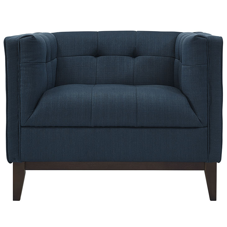 lark fabric armchair blue 4