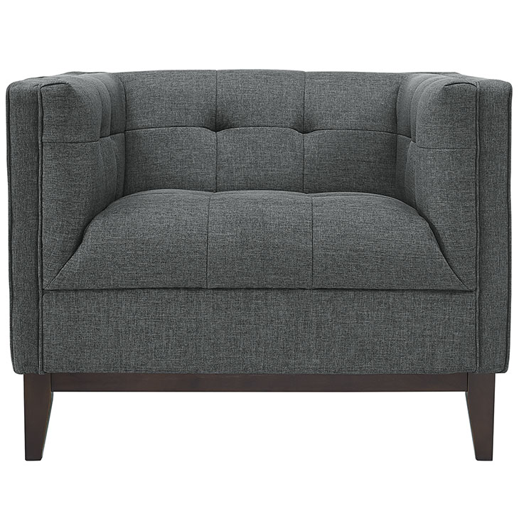 lark fabric armchair dark gray 4