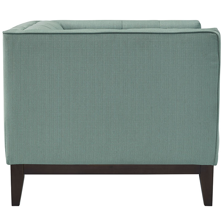 lark fabric armchair mint green 2