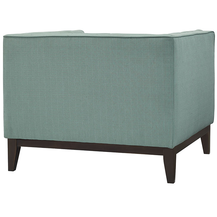 lark fabric armchair mint green 3