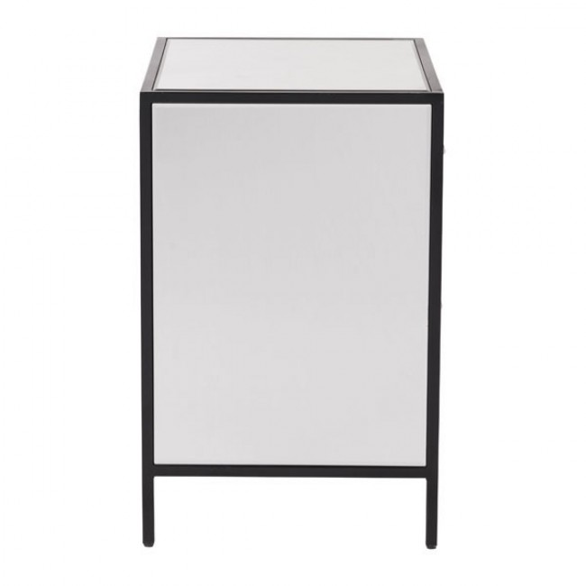 minimal mirror end table 2