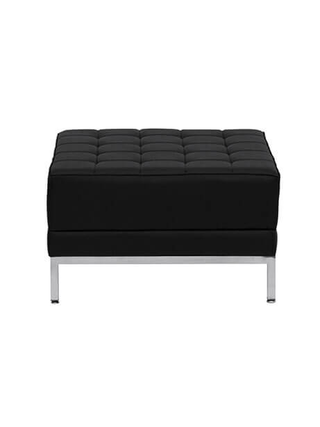 monarch black ottoman 2