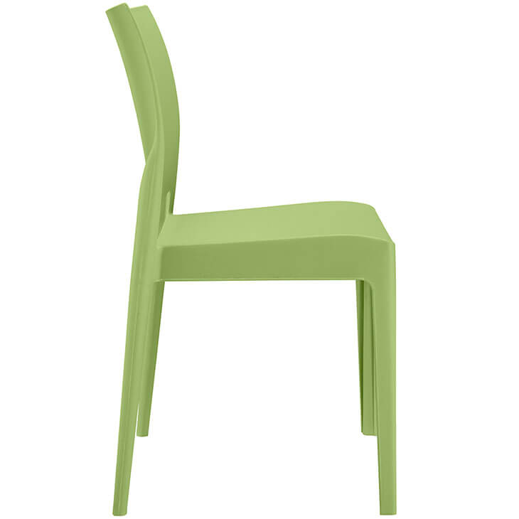 plastic green favor chair