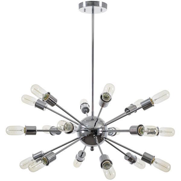 sputnik silver chrome chandelier 1