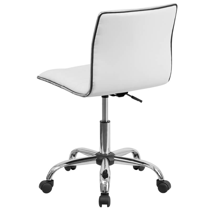 station task office chair white 1