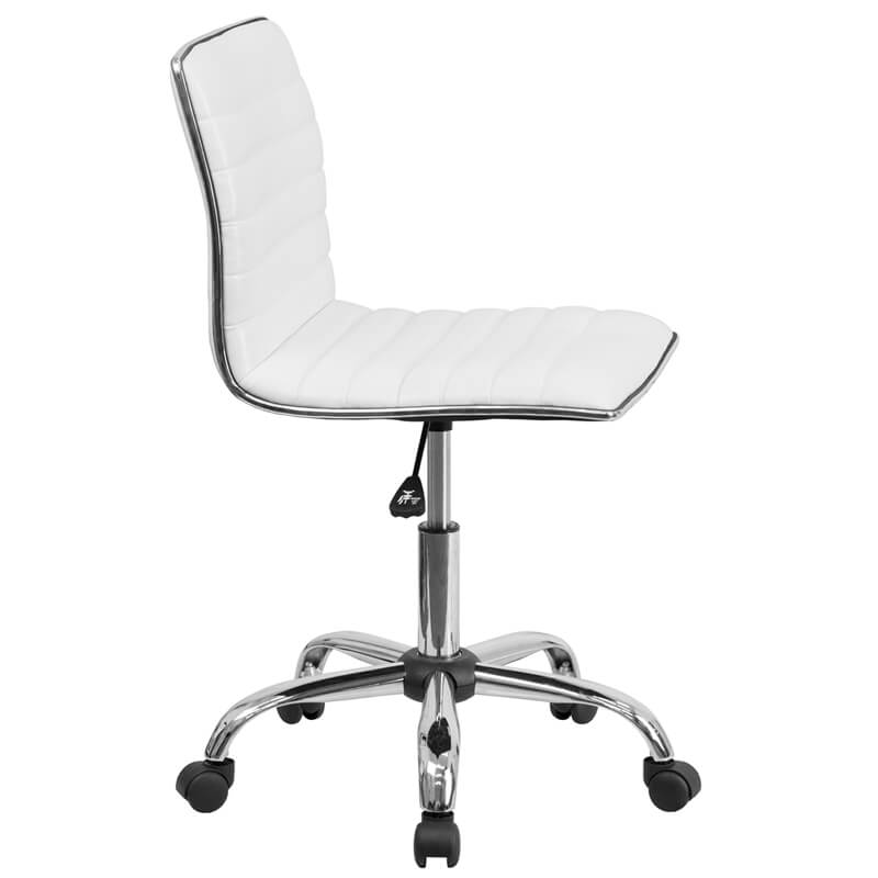 station task office chair white 2 1