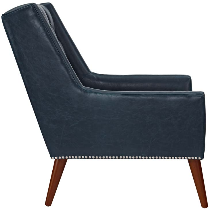 tilly armchair blue 2