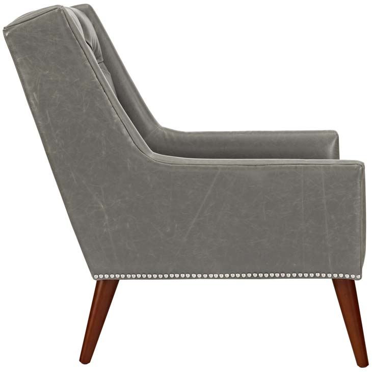 tilly armchair gray 1
