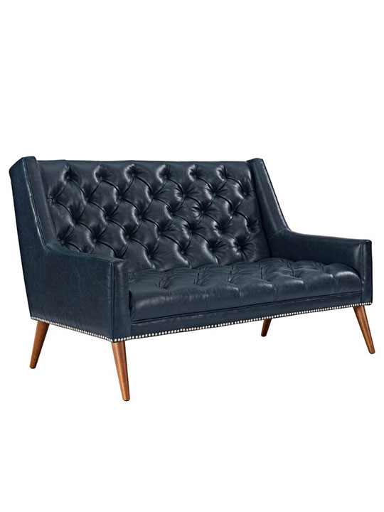 tilly loveseat blue