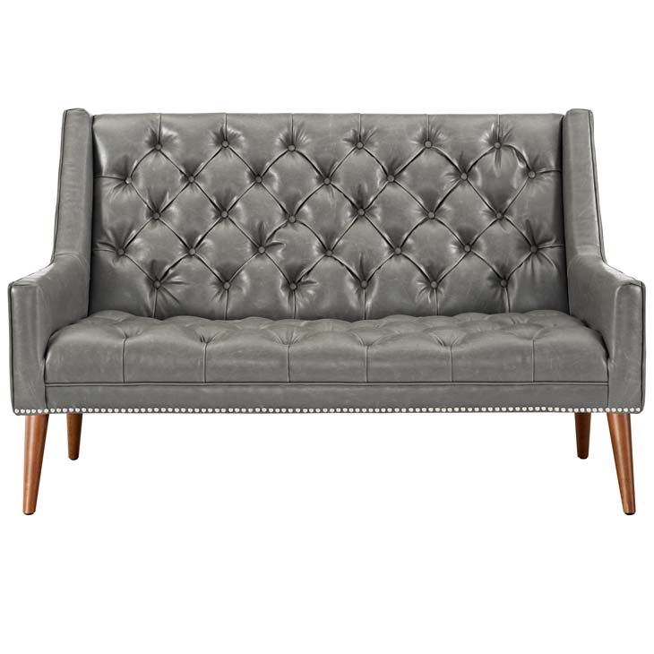 tilly loveseat gray 2
