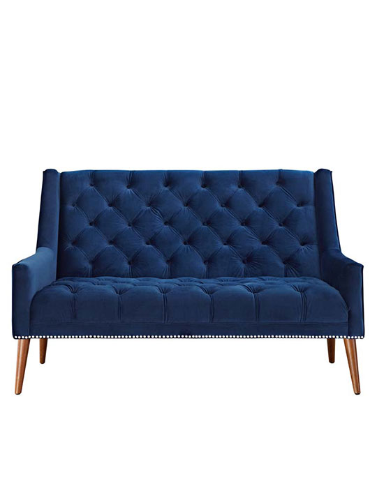 tilly-velvet-loveseat-blue