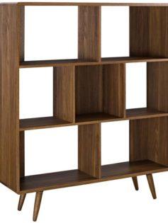 MCM Walnut Bookcase