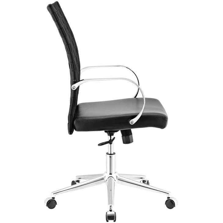 black woven office chair 5