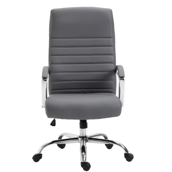 globe office chair gray 1