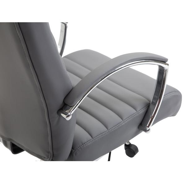 globe office chair gray 6