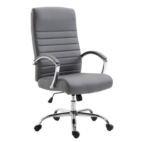 globe office chair gray