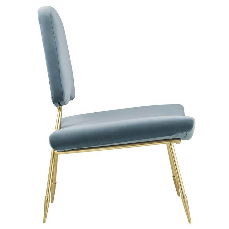 stratus gold velvet accent chair mint blue 2