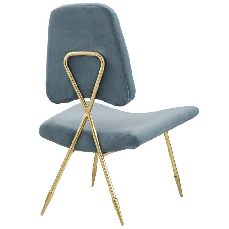 stratus gold velvet accent chair mint blue 3