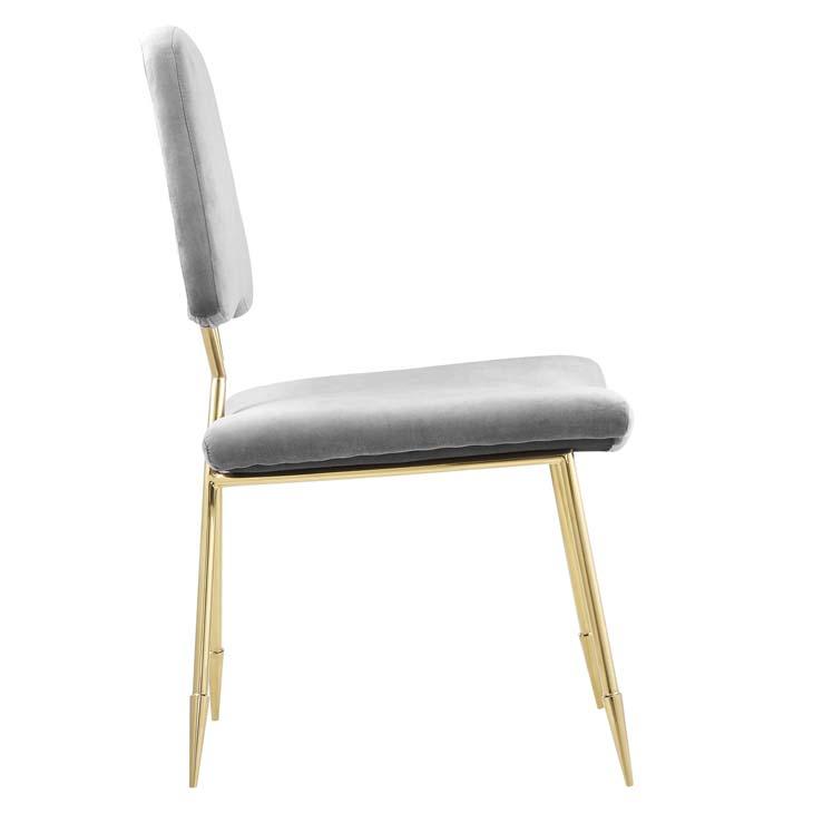 stratus gold velvet chair gray 2